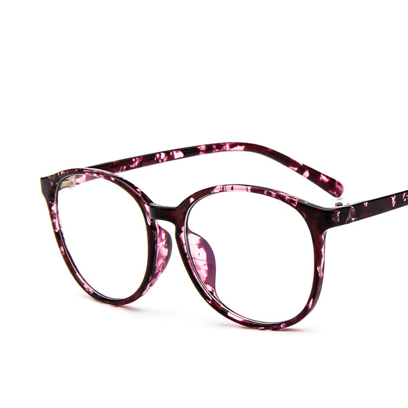 2016 New Branded Eyeglasses Frame Women Oversized Round Clear Glasses 2340 Anti-fatigue Reading Glasses(China (Mainland))