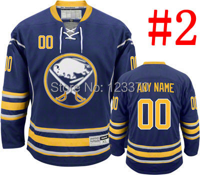 Blue Buffalo Sabres Jerseys  Customize Authentic -Personalized ANY Number &amp; Name Sew On XXS-6XL Cheap Ice Hockey Jerseys China<br><br>Aliexpress