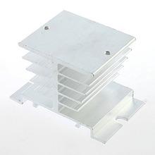 1 unid Monofásico Relé de Estado Sólido SSR Disipación del Disipador de Calor de Aluminio Del Radiador Quitar Envío de La Venta Superior