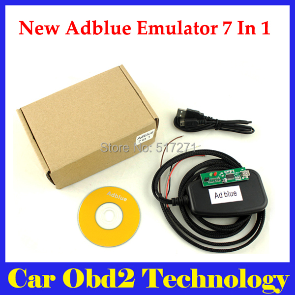 New Adblue 7 in 1 Emulatior /Truck Remove Tool For Mercedes-Be/nz, For MAN/Scania/Iveco/DAF/Volvo/ Renault(China (Mainland))
