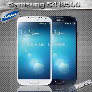 Мобильный телефон Samsung, разблокированный Galaxy S4 i9500 i9505 четвёрка сотовых телефонов WCDMA LTE 5,0 '' 2 гб RAM 16 гб ROM отремонтированный