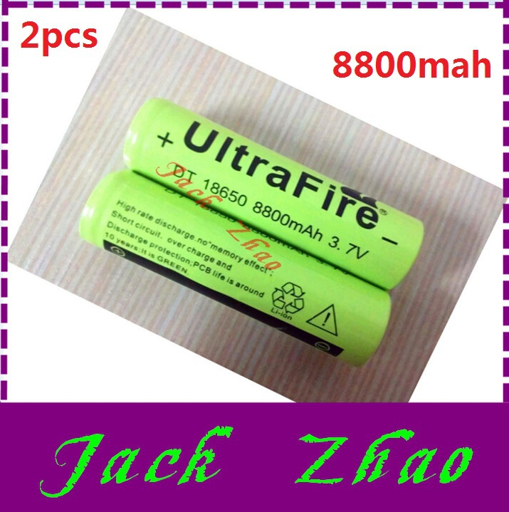 Quality 2pcs/lot 8800mah 18650 rechargeable battery 3.7v li ion bateria - 3pcs lithium ion battery 12v Series connection free(China (Mainland))