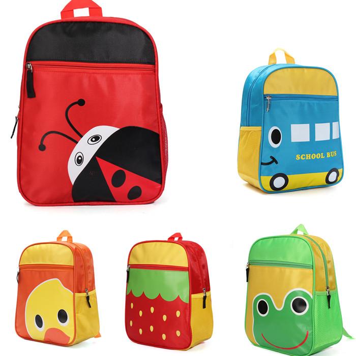 Мода дети рюкзак детей холст детский сад школьные сумки девушки юноши дети характер сумка животных Mochila большой емкости