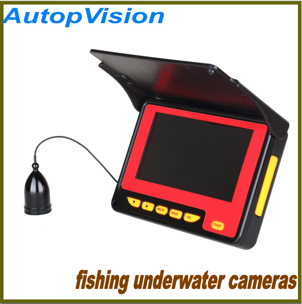 4.3inch Underwater fish camera with camcorder function, HD camcorder for fishing with 20 meters cable,Visual Fish Finder<br><br>Aliexpress