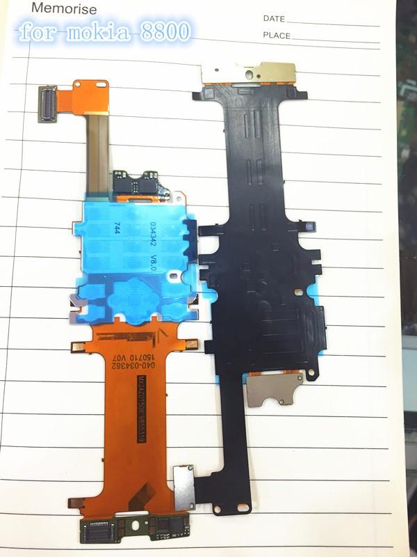 new Original Slide Slider Keypad board LCD Main Flex Ribbon Cable for Nokia 8800 8800A 8801 Arte,Free shipping,20pcs/lot