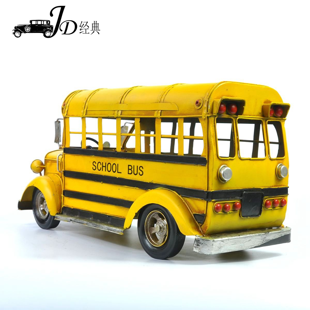 """Manual metal school bus+6.5"""" scale model Rc auto bus+iron diecasts brinquedos+classic vehicle modelo+personalize juguetes(China (Mainland))"""