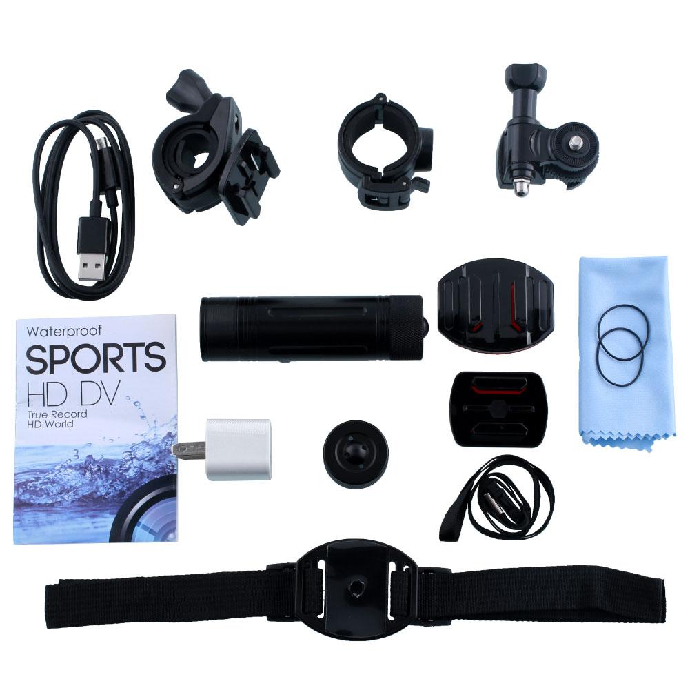 HD 1080P Waterproof Helmet Action Camera Sports Video Car Diving Recorder DV Motorcycle Camcorder Outdoor