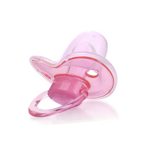 2015 Rushed Hot Sale Silica Gel Big Mouth Soothie Pacifiers Avent Chupeta Nuk Yang Guangju Baby Silicone Pacifier Heart Models(China (Mainland))