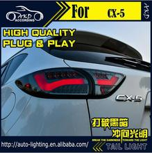 Car Styling Tail Lamp for Mazda CX-5 LED Tail Light 2012-2016 Taiwan Sonar LED Rear Lamp LED DRL+Brake+Park+Signal Stop Lamp(China (Mainland))