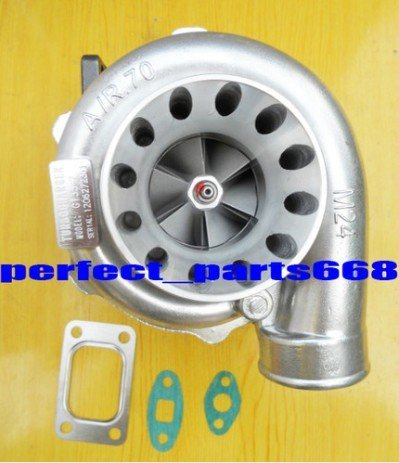 GT35-7 GT3582 T3 a/r 0.70 anti-surge a/r .63 oil 5 bolt turbo Turbocharger NEW