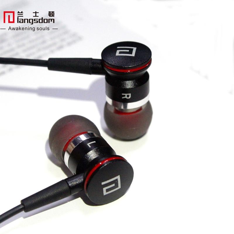 Original Langsdom A10 Super Bass Earphones Hi-Fi Metal Auriculares Headset with Mic for iphone Xiaomi Mp3 Mp4 fone de ouvido(China (Mainland))