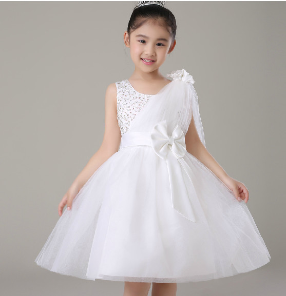 New Summer 2015 Toddler Kids Girl Wedding Party Tulle
