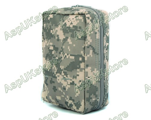 Airsoft Molle Medical First Aid Pouch Bag ACU free shipping(China (Mainland))
