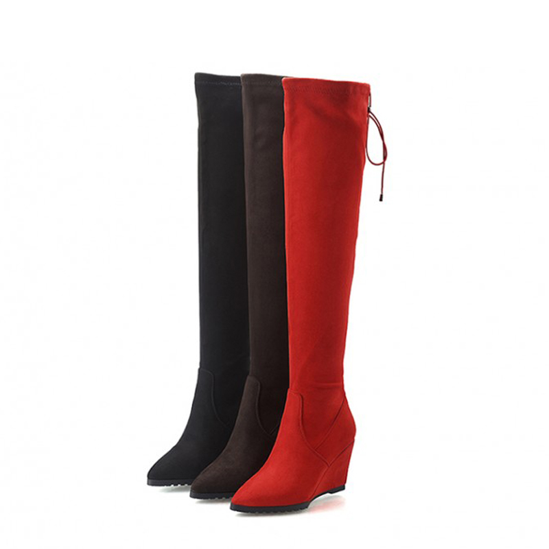 Wide Calf Knee High Boots Promotion-Shop for Promotional Wide Calf ...