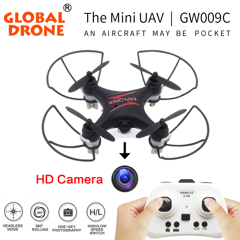 Global Drone GW009C the most world's popular RC Mini Drone Quadcopter Dron RC Helicopter Drones Quadrocopter with Camera Hd(China (Mainland))