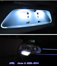 Buy 4pcsx T10 W5W Canbus Car LED License Plate Lights+Parking Lamp Lights Kit Xenon White OPEL Corsa D 2006-2014 for $12.15 in AliExpress store
