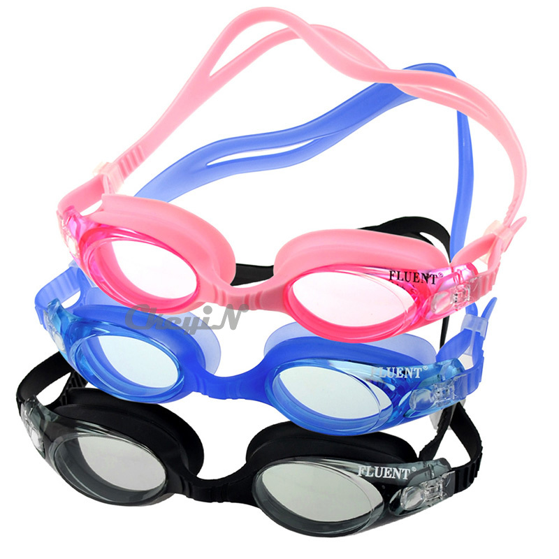 Waterproof Swimming Goggles Anti-fog Integrated Soft Silicone Swimming Glasses For Adults Swim Goggles Free Shipping YJ006-(33)(China (Mainland))