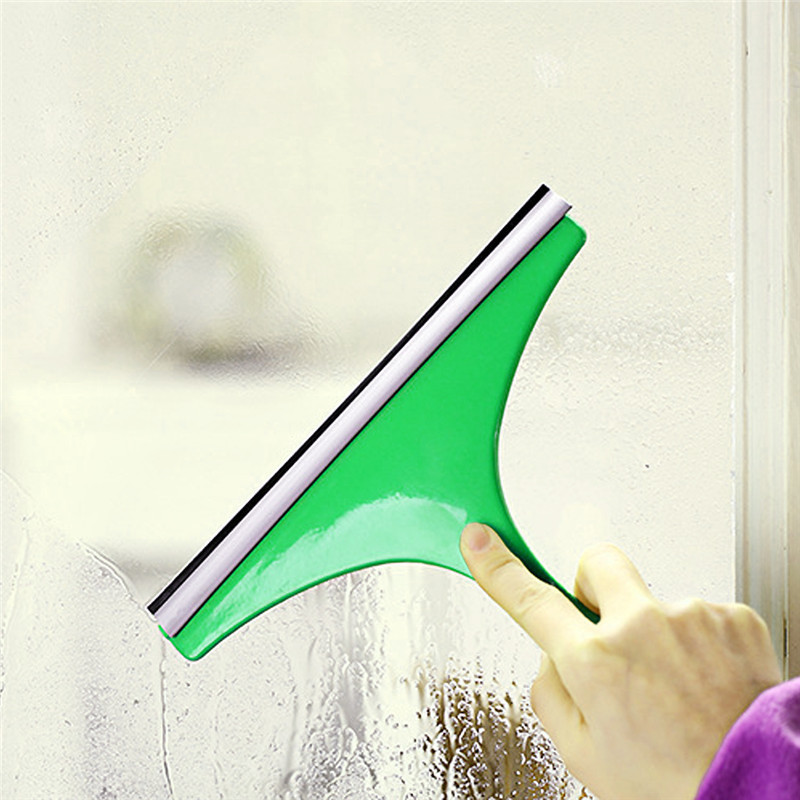 High Quality Window Cleaning Supplies Equipment Quirky Squeak All-in-one Glass Clean Tool The Colors Will Be Randomly(China (Mainland))