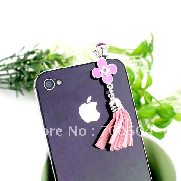 Universal 3.5mm cute enamel anti dust dustproof Earphone Jack Plug for cellphone/Phone/Pad, wholesale cell phone accessories(China (Mainland))