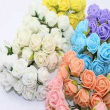 Krásné umělé květinky v mnoha barvách pro zkrášlení domova – 2cm,