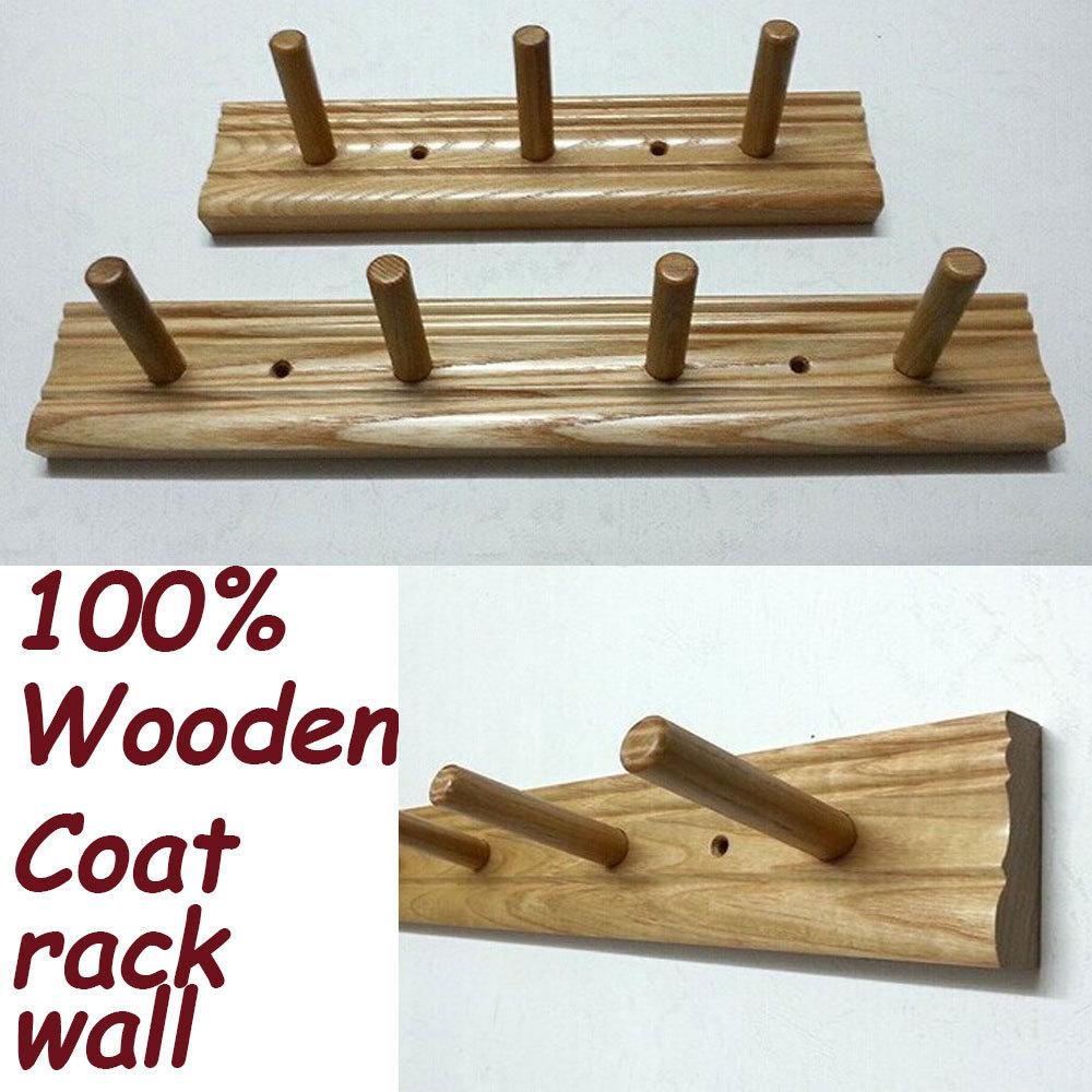 Simple modern wall shelf shelving rack Korean &Japan Style Theme Wooden Wall Hanger Storage Rack Coat Hanger Home Decoration(China (Mainland))