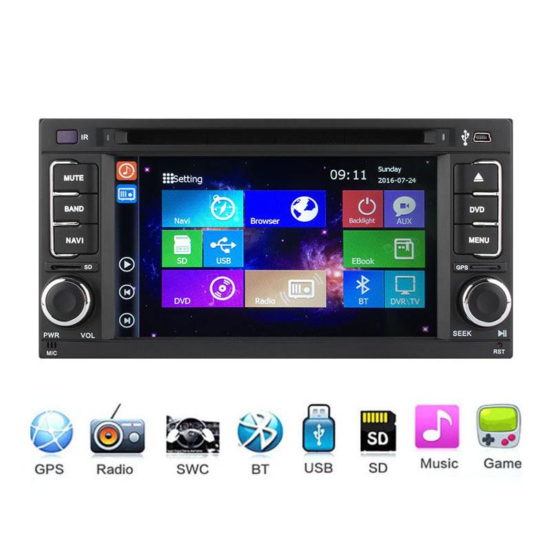 Car DVD Player for Subaru Forester 2008 2009 2010 2011 2012 2013 GPS Navigation Bluetooth radio Headunit Music Windows CE 6.0(China (Mainland))
