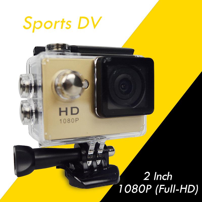2015 Latest Design Sport Action camera Full HD 1080P Diving 30M Waterproof Car DV Digital Camcorder A9 5512(China (Mainland))