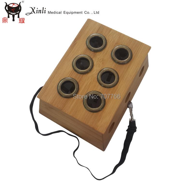 2015 high quality Six hole Moxa Roll Burner box(China (Mainland))