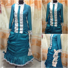 1860S Victorian Corset Gothic/Civil War Southern Belle Ball Gown Dress Halloween dresses  CUSTOM MADE XS-030