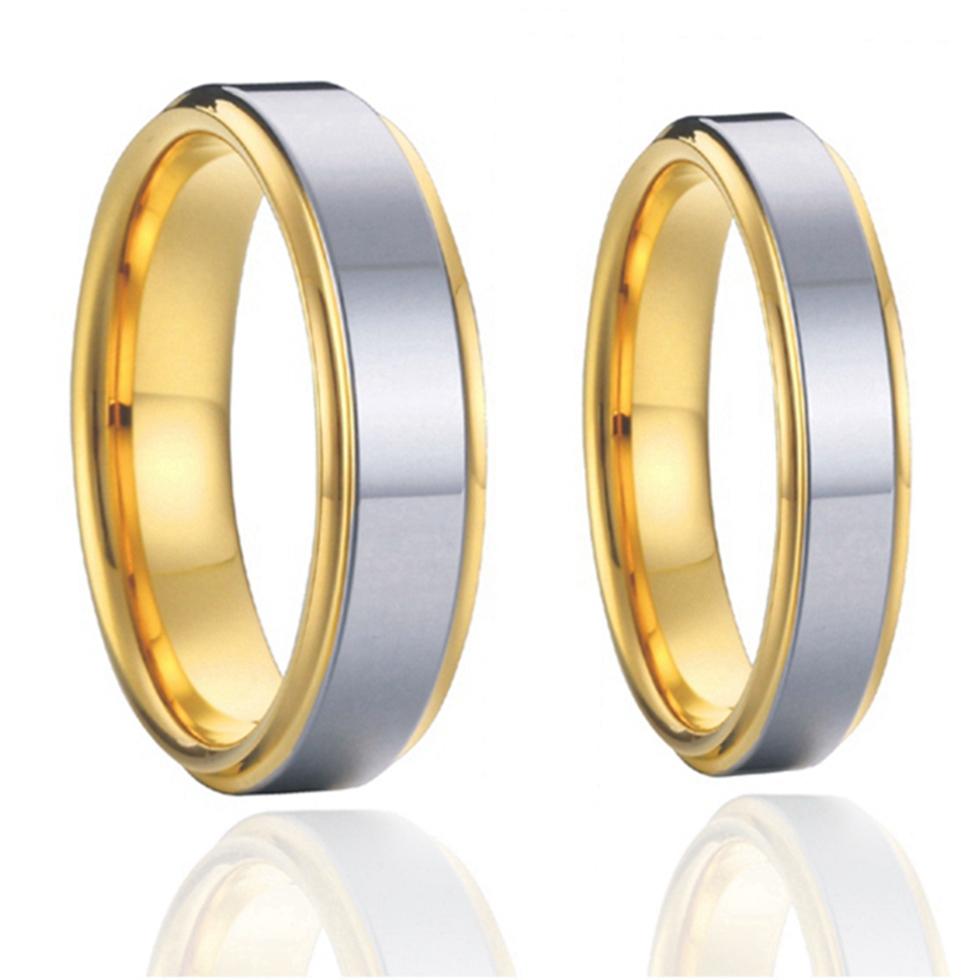 Buy Designer Wedding Band Engagement Rings Couples Pure Titanium Steel Jewelry Soul Mate Elegant