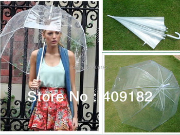 Princess  umbrella Gossip Girl umbrella Apollo Transparent umbrella  free shipping