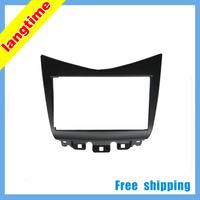 Free shipping-Car refitting DVD frame,DVD panel,Dash Kit,Fascia,Radio Frame,Audio frame for 07 Honda Accord 2.4 , 2DIN
