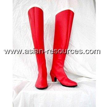 Wholesale Free Shipping Express Cheap Cosplay Shoes & Boots Sailor Moon Red Tsukino Usagi S1411