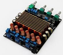 Buy TC2001 STA508 2.1 Class D Digital Amplifier Board 160W+80W+80W for $29.99 in AliExpress store