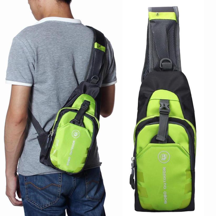 6 Color Fashion Men's Outdoor Crossbody Shoulder Bag Nylon Military Haversack Tactical Casual Bag Free Shipping Yo(China (Mainland))