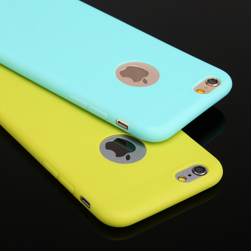 New Arrival case for iphone 6 Candy colors Soft TPU Silicon phone cases for iphone 6