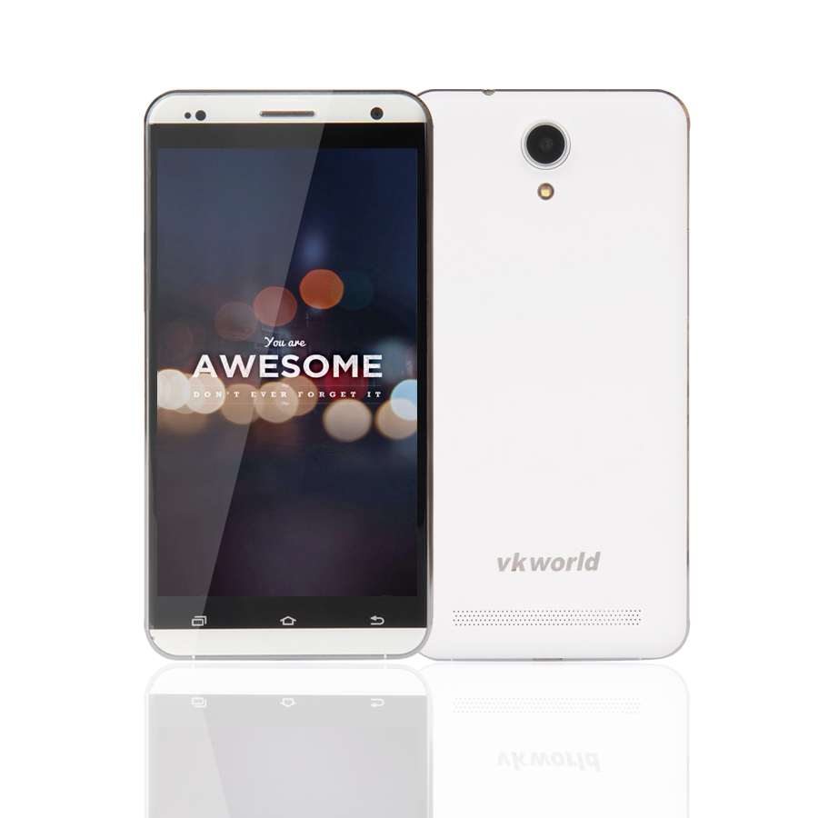 Original VKworld VK700 PRO  5.5Inch IPS HD Quad Core Android 4.4 MTK6582 3G  Cell Phone 1G+8G ROM 13MP Camera GPS 3200mAh Phone