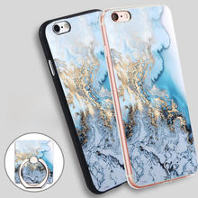Buy marble gold line Phone Ring Holder Soft TPU Silicone Case Cover iPhone 4 4S 5C 5 SE 5S 6 6S 7 Plus for $2.24 in AliExpress store