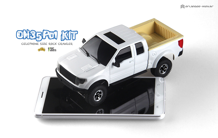 1/35 2015model simulation remote control car climbing frame OH35P01 F-150 KIT<br><br>Aliexpress