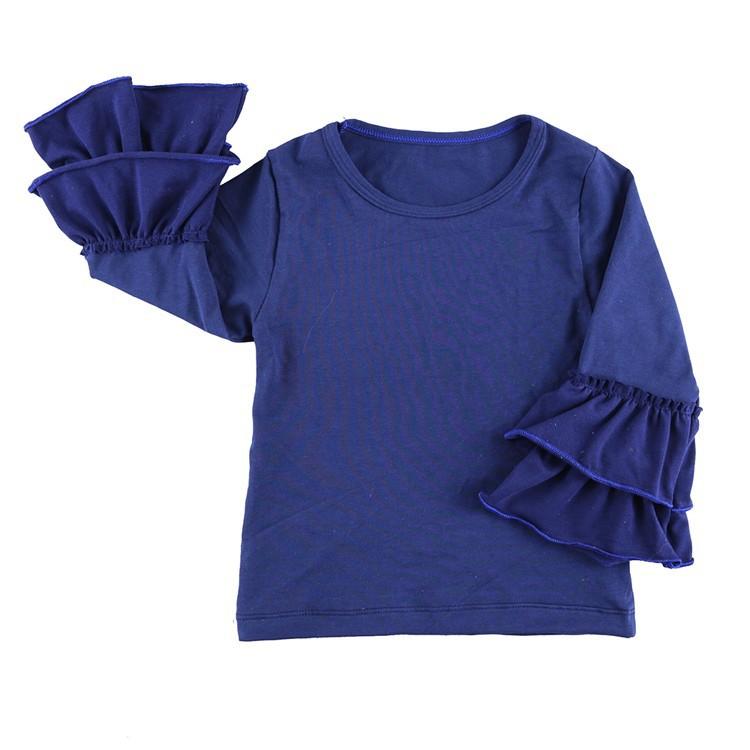 2016 New Real Minecraft Minion Wennikids Solid Cotton Sleeve Ruffle Top,girl T-shirt Children T Shirts Kid Tops Free Shipping  HTB13mWtHVXXXXcHXVXXq6xXFXXXf
