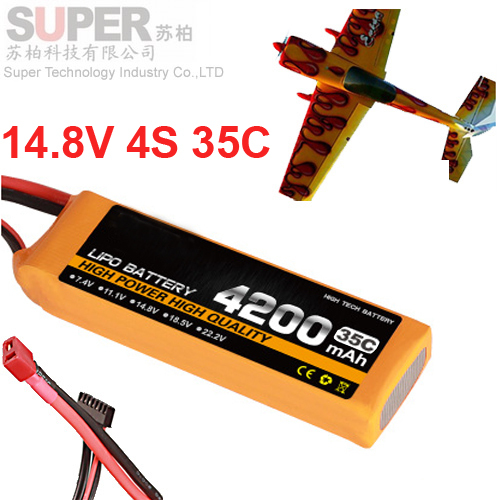 4s 35c 14.8v 4200mah airplane model battery 35C aeromodeling battery model aircraft Li-Polymer battery XT60 airplane battery<br><br>Aliexpress