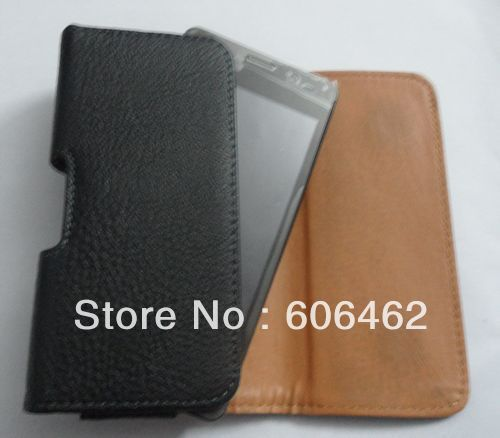 Hanging Waist Leather Case for JIAYU G3 IPHONE 5 Free shipping(China (Mainland))