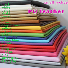 """Small Lychee PU Leather Faux Leather Fabric Sewing Artificial leather Upholstery Car interior 54"""" Sold By The Yard Free Shipping(China (Mainland))"""