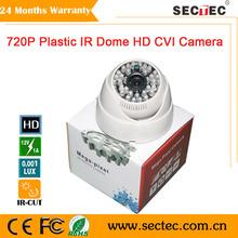 1.0 Mega pixel 720P Plastic Camera with 48pcs ir led, MMS on line remote view icloud CVI camera 720P Suveillance system(China (Mainland))