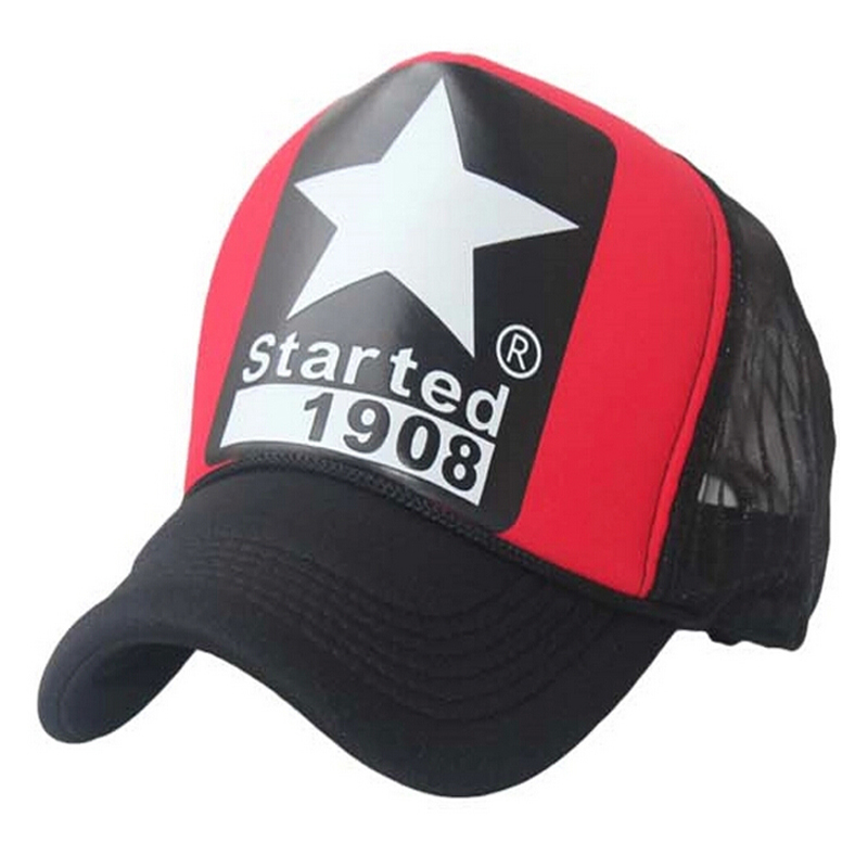 Hot sale 2016 big star started 1908 trucker hat unisex mens women fitted hats and caps basketball kids casquettes,ty4519,xw*(China (Mainland))