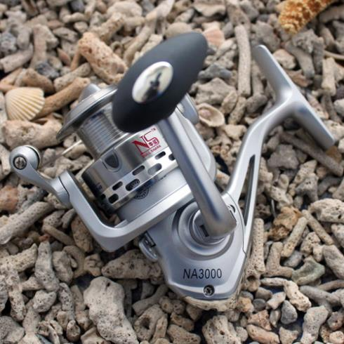 Fishing Spinning Reel  NA3000 5 Ball Bearings For Salt Water ( Standard ) Fishing Aluminum Spool High Speed 5.0:1<br><br>Aliexpress