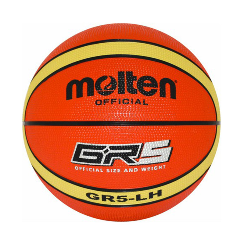 New Brand High Quality Offical Standard Size 5 Molten GR5 Basketball Ball PU Material Teenager Basketball Free With Net Bag+ Pin(China (Mainland))