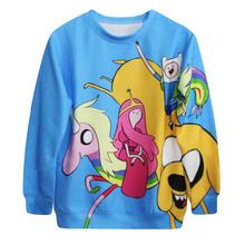 HOT Star Wars Unisex 3D Adventures Time Print Couple Thin Round Neck Pullover Sweatshirt Tops Street  Wear Hip-hop Wear ROB1294(China (Mainland))