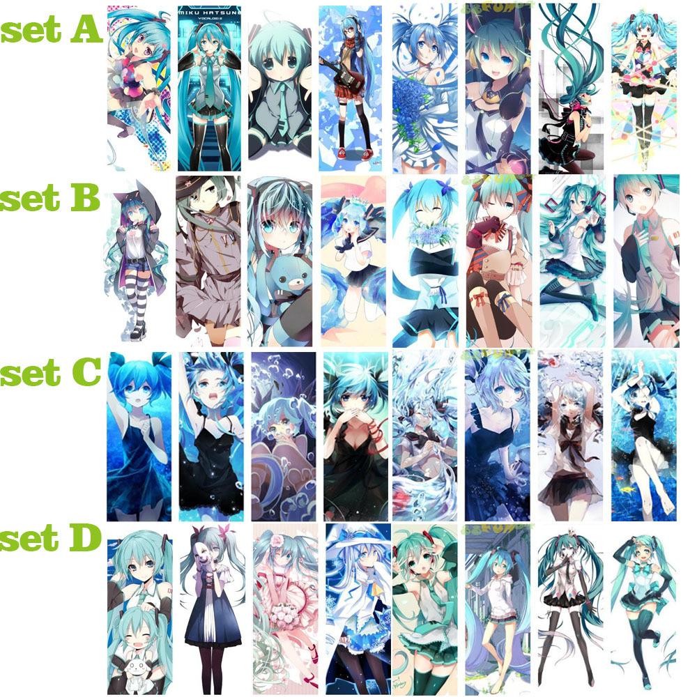 Закладка для книг Fun] Hatsune Miku 8 x/: 4 * 11 закладка для книг hatsune miku