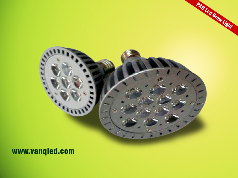 Factory promotional 12W PAR38 led grow light 660nm 460nm greenhouse flower fruit and vegetable(China (Mainland))